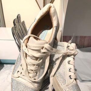 Betsey Johnson sneakers jewels